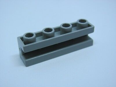 2653 Lego Brick With Groove Horizontal 1x4 gris clair x4