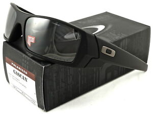 NEW Oakley Gascan Sunglasses Matte Black l Black Iridium Polarized ... 985a7de5b7