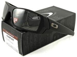 dbf8fcfcd15 NEW Oakley Gascan Sunglasses Matte Black l Black Iridium Polarized ...