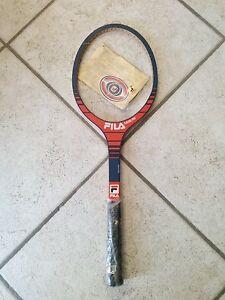 Details about Racchetta da tennis FILA ARROW Made in ITALY Vintage legno non incordata