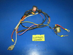 Details about YAMAHA XT 225 SEROW 1992 WIRE HARNESS ( BAD CONDITION on