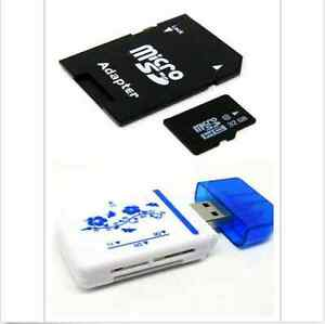 Hot~32GB Micro SD Card TF Flash Memory MicroSD MicroSDHC Class 10 Free Adapter