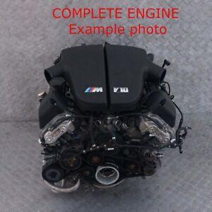 BMW-5-6-Series-E60-M5-E63-E64-M6-507HP-V10-Bare-Engine-S85B50A-WARRANTY