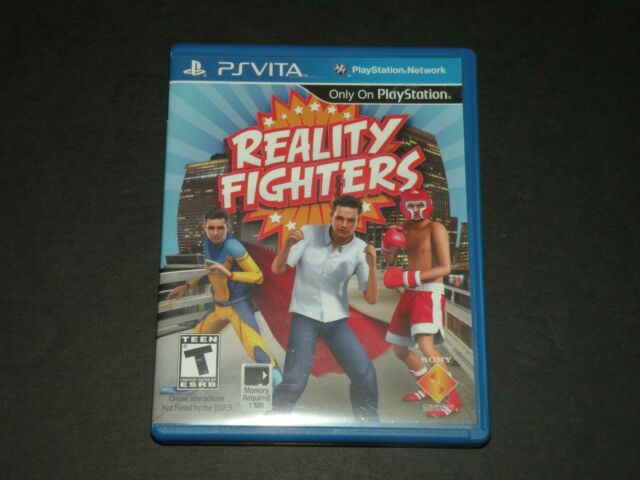 REALITY FIGHTERS ~ PS VITA GAME ~ PLAYSTATION ~ COMPLETE ~ CIB