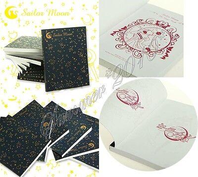 Anime Sailor Moon Logo Crystal Cosplay Notebook Paper Memo Collection Diary book