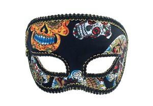 Day-of-the-Dead-Half-Fancy-Mask-Dia-de-los-Muertos-Sugar-Skull-Costume-Accessory