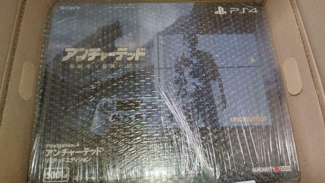 NEW PS4 Uncharted 4 Playstation 4 Console System Japan *UN-OPENED*