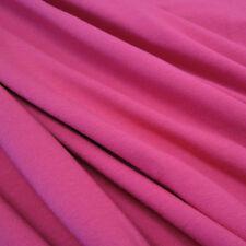 Stoff Meterware Baumwolle Jersey pink Tricot T-Shirt weich dehnbar Kleiderstoff