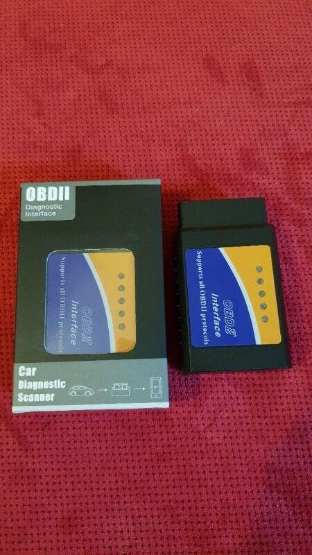 ELM327 V1 5 OBD2 Bluetooth Car Diagnostic Scanner, 25K80 Chip