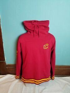 Official NBA Cleveland Cavaliers Team Apparel Maroon Sweatshirt Men's Large L