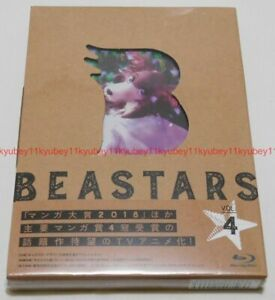 Nuevo-beastars-Vol-4-Primera-Edicion-Limitada-Blu-ray-FOLLETO-tarjeta-Japon-TBR-29244D