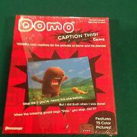 Pressman Toy Game: Domo- Caption This