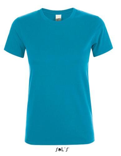 Regent Donna T-shirt//metà pettinato cotone filato ad anellosols