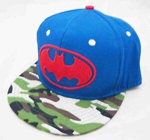 b8b24eee5d909 DC COMICS BATMAN CAMO MASHUP FLAT BRIM SNAPBACK HAT CAP BRAND NEW | eBay