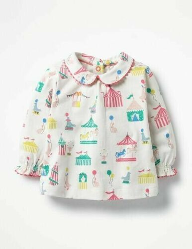 T-Shirts & Tops Boden Girls Blouse Tops Ex Mini Boden Age 3 6 9 12 18 24 M 2 3 4 Year RRP £18 Clothes, Shoes & Accessories