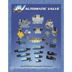 "AUTOMATIC VALVE A7105-006W 1/4""BSPP MANIFOLD MFGD"
