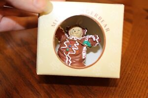 THE-MUFFY-VANDERBEAR-COLLECTION-GINGERBEAR-VINTAGE-1992-ORNAMENT-CHRISTMAS
