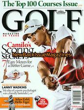 Golf Magazine 10/09,Camilo Villegas,Arnold Palmer,October 2009,NEW