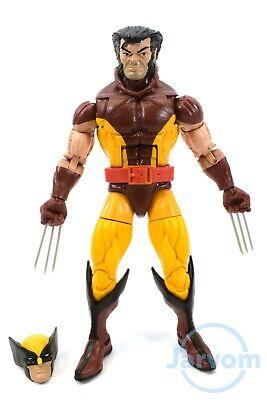 "Marvel Legends 6/"" Inch Vintage Retro Classic X-Men Dark Wolverine Loose Complete"