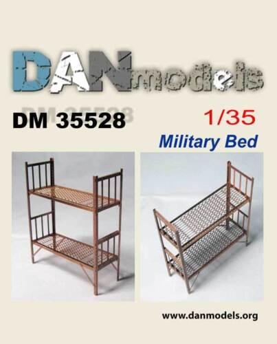 SCALE 1//35 MILITARY BUNK BED DAN MODELS 35528