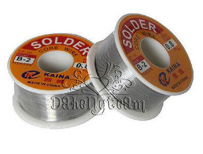 63/37  Tin/lead Rosin Core Solder Wire 0.5-2mm 2% Flux Reel Welding line 100G