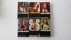 lot-de-6-livres-poches-SAS-de-Gerard-de-VILLIERS-edition-PLON