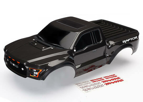 Traxxas 2017 Ford Raptor Cuerpo Negro 5826A TRA5826A