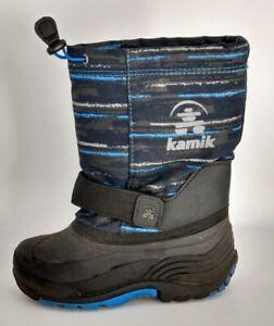 Kamik Kids Snow Boots Size 13 Black