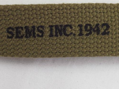 WW2 US Hosenkoppel Mannschaften Hosengürtel HBT M 1937 Koppel 42 Inch 101,6cm