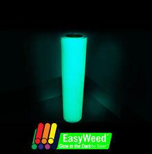 "Siser Easyweed Glow in the Dark HEAT TRANSFER VINYL (HTV) 15"" x 12"" Roll"