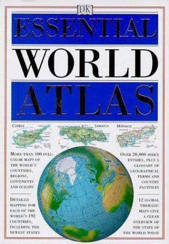 Essential World Atlas by DK Publishing
