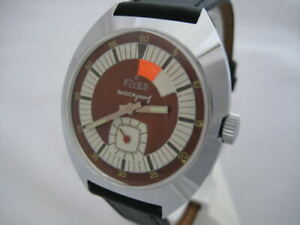NOS-NEW-ST-STEEL-MECHANICAL-HAND-WINDING-SHOCKPROOF-ANALOG-MEN-039-S-ELVES-WATCH-60-039