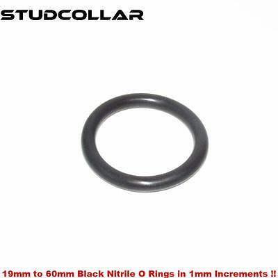 Studcollar-nitrile-ultimates 19mm To 60mm Id 2 X Strong Rubber Penis Rings