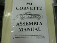 1961 Corvette (all Models) Assembly Manual
