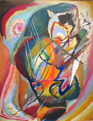 Unequal Vintage Fine Art Print Wassily Kandinsky
