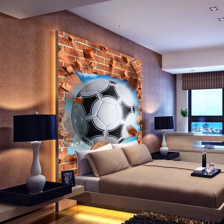 3D sports ball 4322 Paper Wall Print Decal Wall Wall Murals AJ WALLPAPER GB