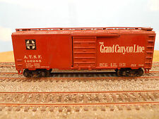 "HO SCALE KAR-LINE SANTA FE ATSF 146285 ""GRAND CANYON LINE"" 40' BOX CAR"