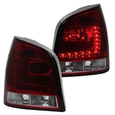 VW Polo 9N3 9N Rückleuchten Heckleuchten Set Links Rechts 05-09 Rot BIRNEN