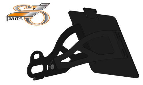 Harley Davidson Sportster XL 1200 seitlicher Kennzeichenhalter seitlich Bj 91-03