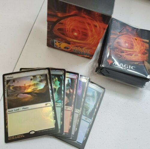 MTG MagicFest 2020 Sol Ring Bundle w// Sleeves Deck Box and Exclusive Lands