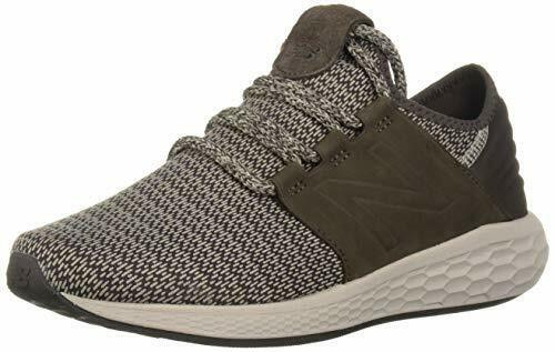 New Balance Men's Cruz V2 Fresh Foam Running shoes, americano flat white, 8.5 D..