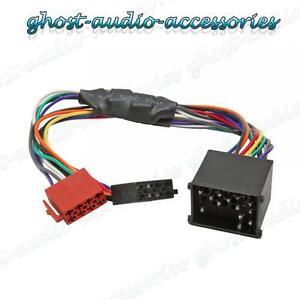 AUDI A6 Amplificado ISO Arnés de radio//estéreo activo//Adaptador//conector de cableado