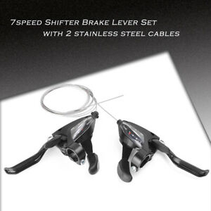For EF500-7 bikeBike Brake Shifters Set Brake Shift Levers 3x7S With Cables