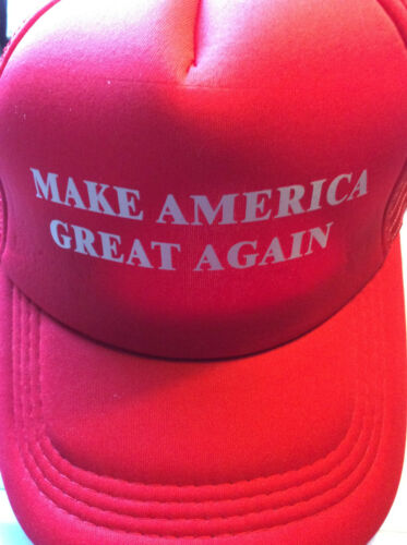 TRUMP HAT 2020 RED MAKE AMERICA GREAT AGAIN