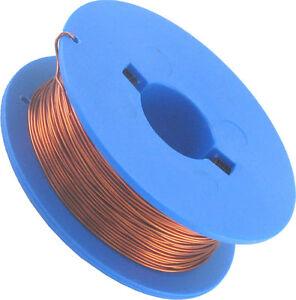 50m-Kupferlackdraht-Kupferdraht-auf-Spule-0-425mm-Spule-Trafo-Draht