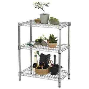 tag re exterieurs 3 tages robustes acier galvanis biblioth que dehors ebay. Black Bedroom Furniture Sets. Home Design Ideas