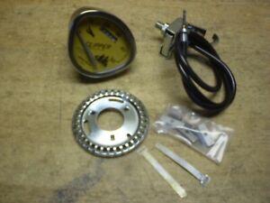 """Stewart Warner 26"""" Bicycle Speedometer Schwinn Columbia Monark Shelby Elgin"""