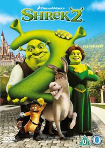 DVD-Dreamworks-Shreck-2-2004-SECONDO-II-Sreck-BAMBINI-CARTONE-ITALIANO