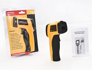 Non-contact digital infrarouge thermomètre infrarouge pistolet laser 50 º c à 550 º c lcd