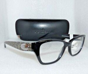 c7ce95e936d1 NEW COACH HC6070 5346 BLACK / WHIP SNAKE FOG EYEGLASSES GLASSES ...